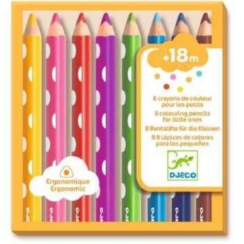 Creioane Colorate Pentru Bebelusi, Djeco
