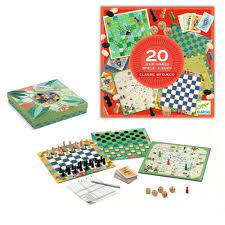 Colectia Djeco – 20 Jocuri Clasice