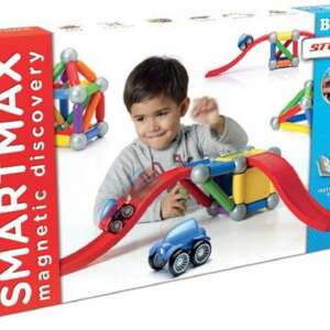 Set mașinuțe cu rampe, de construit Play Basic Stunt, SmartMax