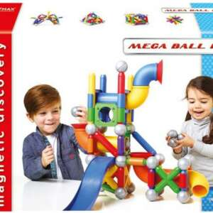 Jucării Magnetice, Mega Ball Run, SmartMax
