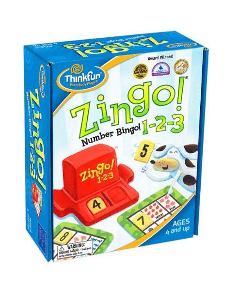 Joc educativ, Zingo 1-2-3