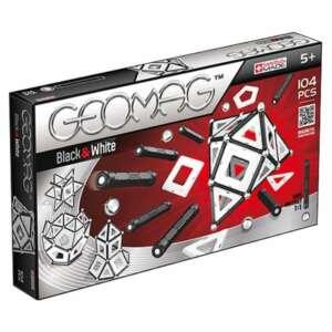 Joc de construit magnetic,Geomag Black & White 104