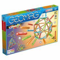 Joc magnetic de construit, Geomag Confetti 127