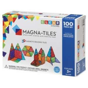 Joc Magnetic, Magna-Tiles Clear Colors (100 Piese)