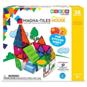 Set Magnetic, Magna-Tiles House, 28 Piese