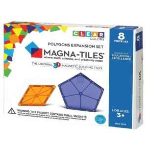 Magna-Tiles Extensie Poligoane 8 piese