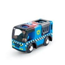 Mașinuță de poliție cu sirenă