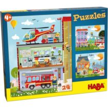Puzzle Haba, Little Fire Station