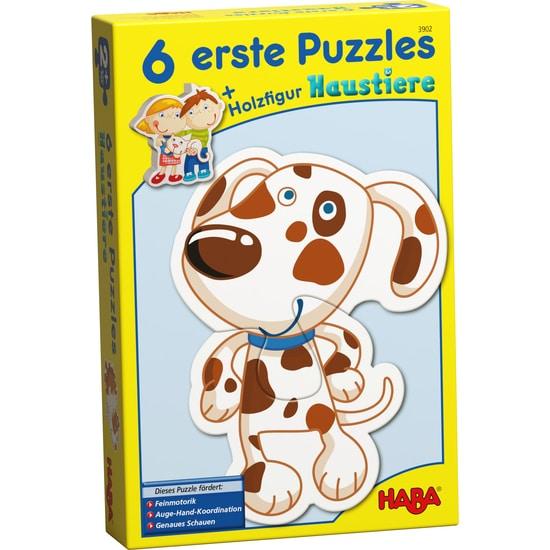 6 Puzzle-uri simple cu animale, Haba