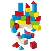 Cuburi din lemn colorate, Haba