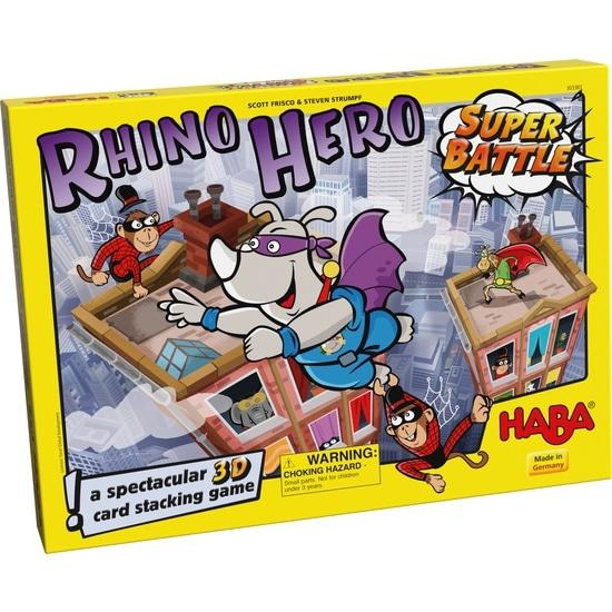 Joc de societate, Rhino Hero – Super Battle, Haba