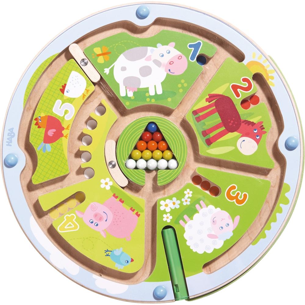 Joc magnetic de îndemânare, Labirintul Numerelor, Haba