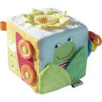 Jucărie Bebeluși, Cub de joacă, Broscuța magică, Haba