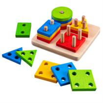 Joc de sortare- 4 forme geometrice
