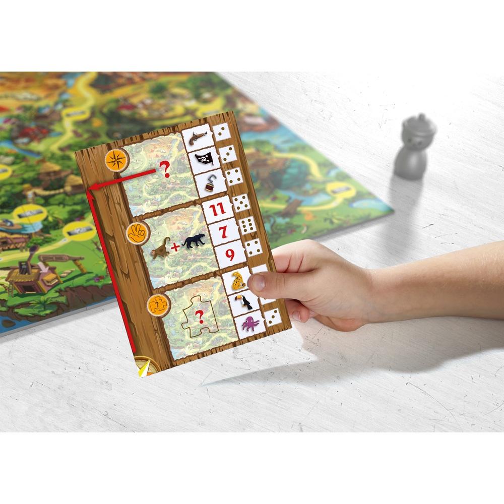 Joc de societate – Găsește codul! Insula Piraților, Haba detalii joc 2