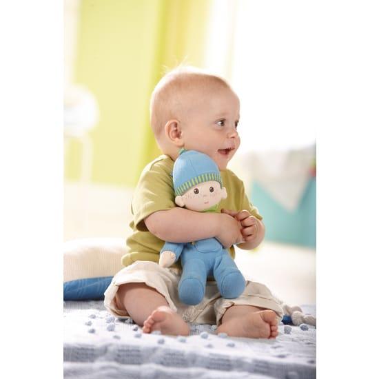 Păpușă bebeluș Luis – Haba cu copil