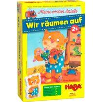 Primul meu joc, Aranjează jucăriile, Haba