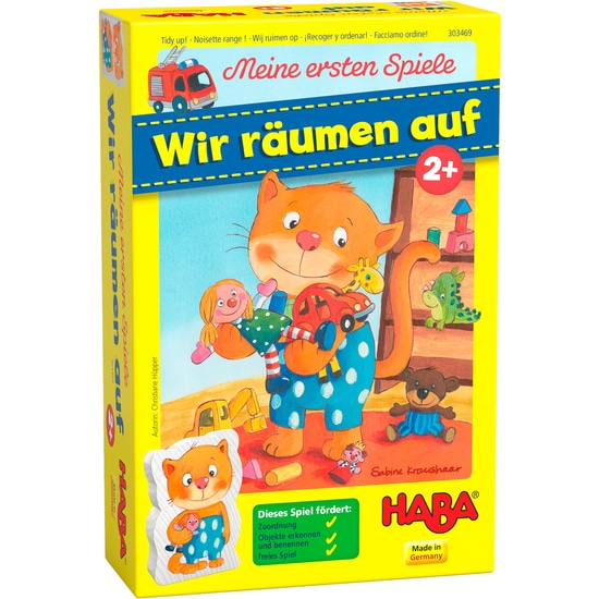 Primul meu joc – Aranjează jucăriile, Haba