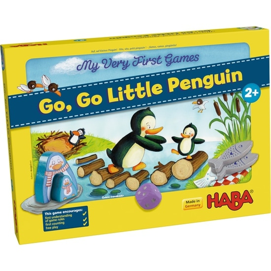 Primul meu joc – Cursa micilor pinguini, Haba