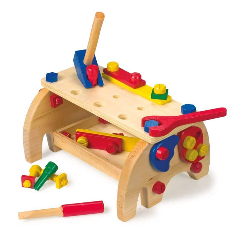 Banc de lucru copii, din lemn, Small Foot