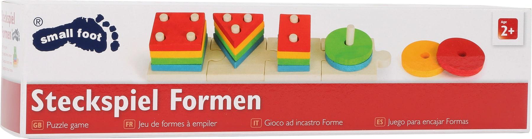 Joc de potrivire cu forme, puzzle, Small Foot ambalaj