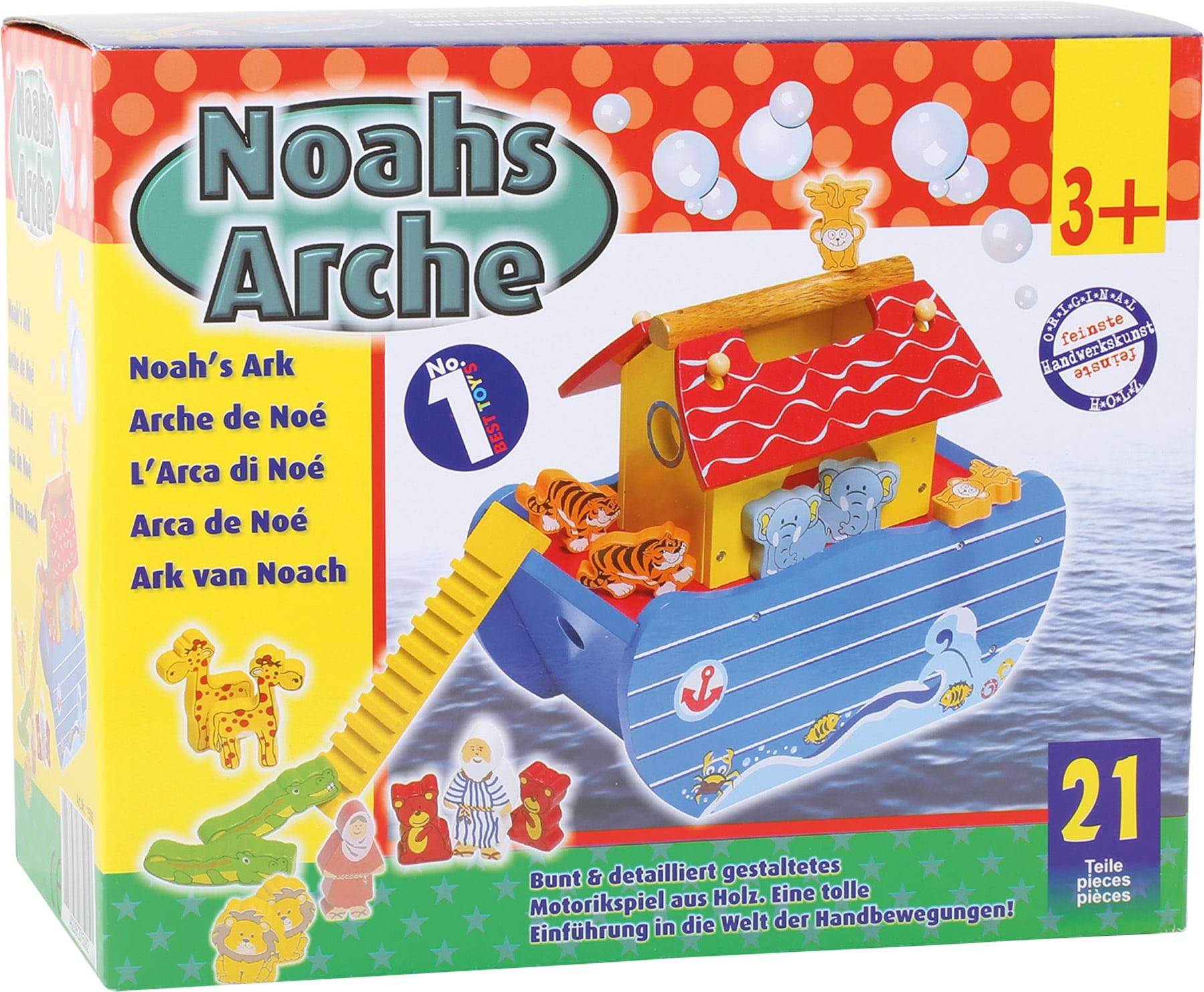 Jucărie din lemn, Arca lui Noe ambalaj