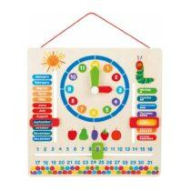 Jucărie educativă,The Very Hungry Caterpillar, Învață ceasul și calendarul, Small Foot