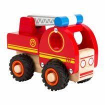 Mașină de pompieri, jucărie din lemn, Small Foot