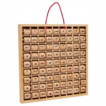 Tabla înmulțirii din lemn