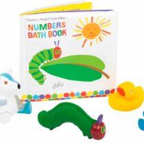 The Very Hungry Caterpillar, Jucării de baie, Carticică si Figurine