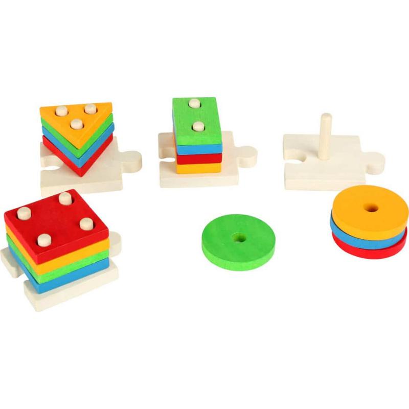 Joc de potrivire cu forme, puzzle, Small Foot