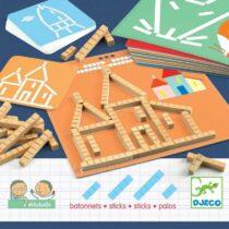 Construiește 2D cu segmente - Eduludo Sticks