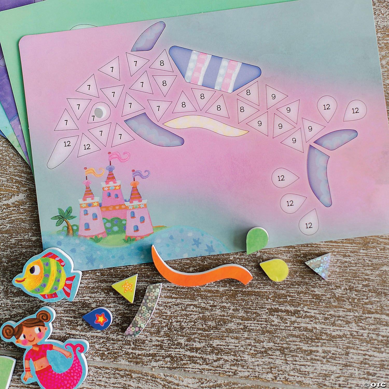 Mermaid Island – Mozaic magnetic, Insula sirenelor detalii