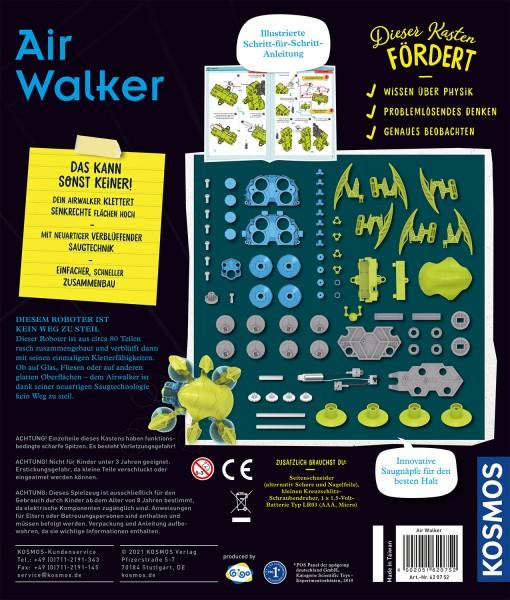 Air Walker, Robotul Cățărător, Kosmos detalii