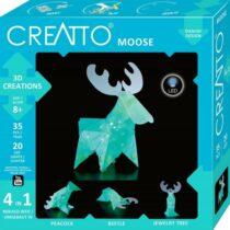 Creatto - Elan, Figurina 3D de construit, cu leduri, Kosmos