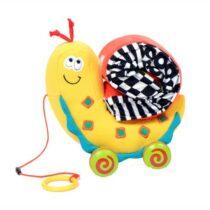 Jucărie de tras, bebeluși, Melcul Sammy, Dolce