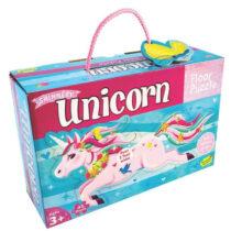 Puzzle de podea pentru fete - Unicorn Peaceble Kingdom