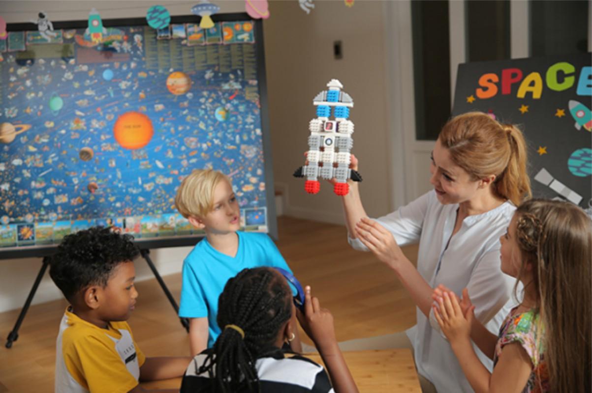Cubroid Wireless, kit robotic programabil, jucărie STEAM atelier robotică