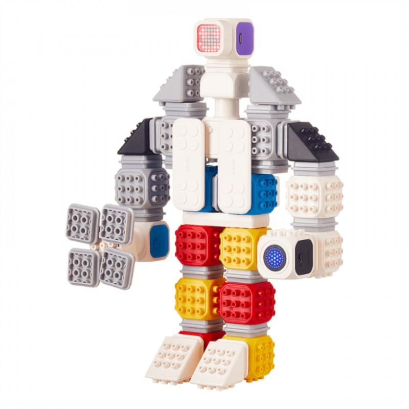 Cubroid Wireless, kit robotic programabil, jucărie STEAM robot