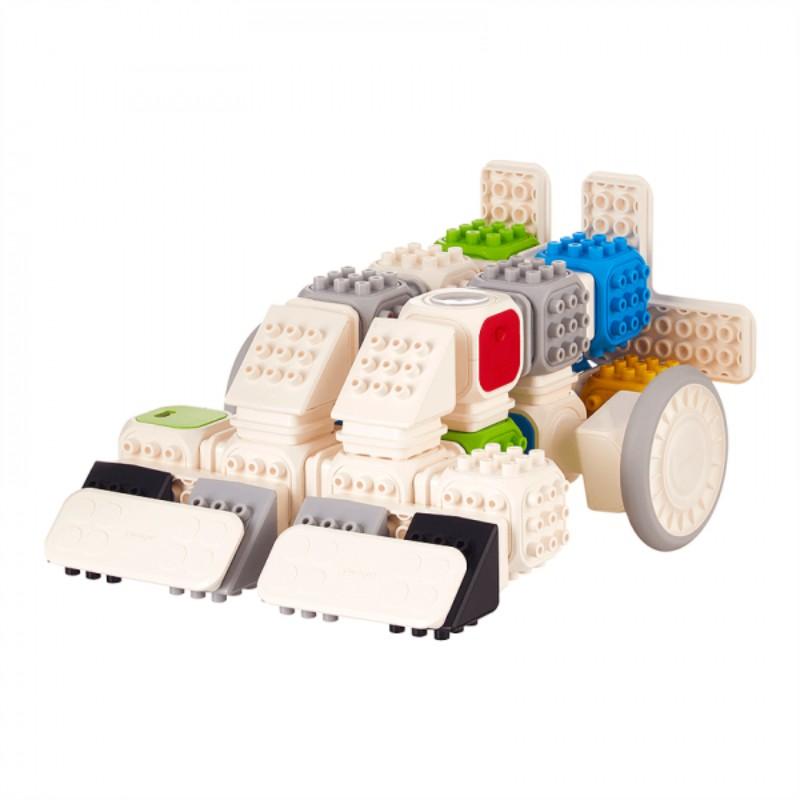 Cubroid Wireless, kit robotic programabil, jucărie STEAM vehicul