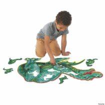 Dinosaur Floor Puzzle – puzzle de podea în formă de dinozaur