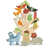Joc de îndemânare și echilibru, Animale și fructe din pădure, Tender Leaf
