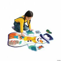 Snowman, puzzle de podea, Om de zăpadă